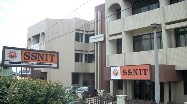 ssnit_office, Ghana's pensions sector, ghanatalksbusiness.com