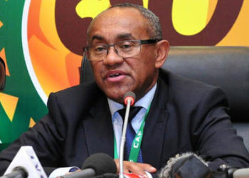CAF president Ahmad banned